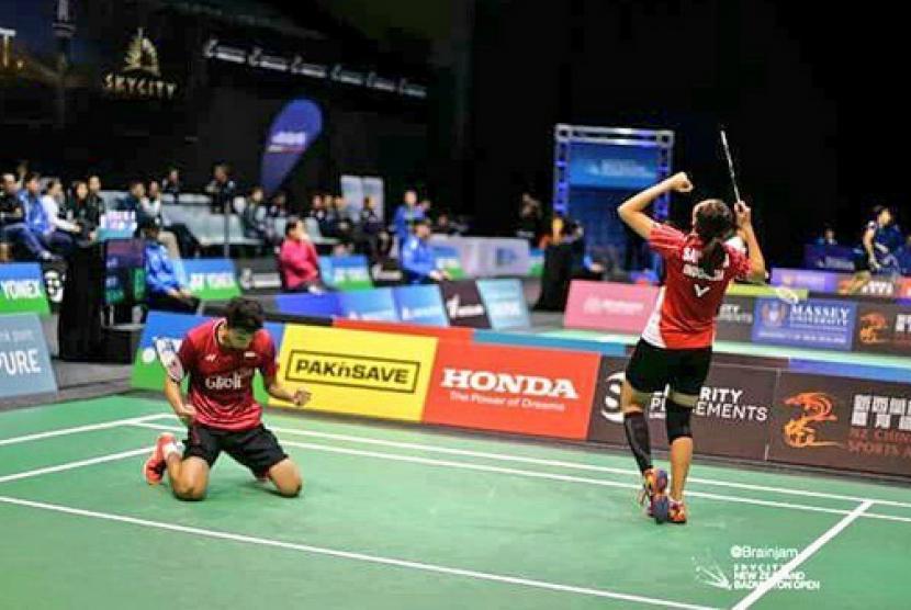 Pasangan baru Indonesia, Ronald Alexander/Annisa Saufika