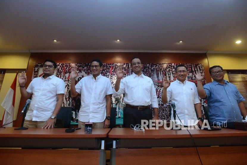 Tim Pemenangan Anies-Sandi Hindari Blunder Jelang ...