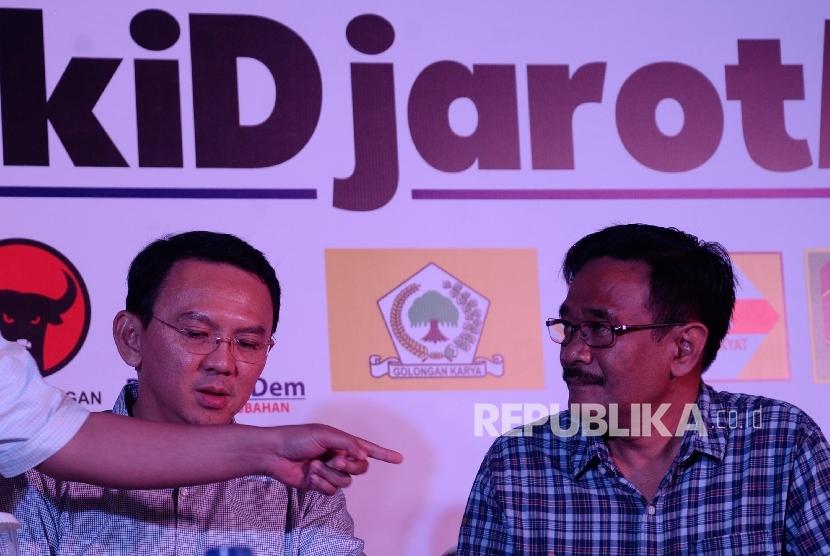 Basuki Tjahaja Purnama (Ahok)-Djarot Saiful Hidayat.