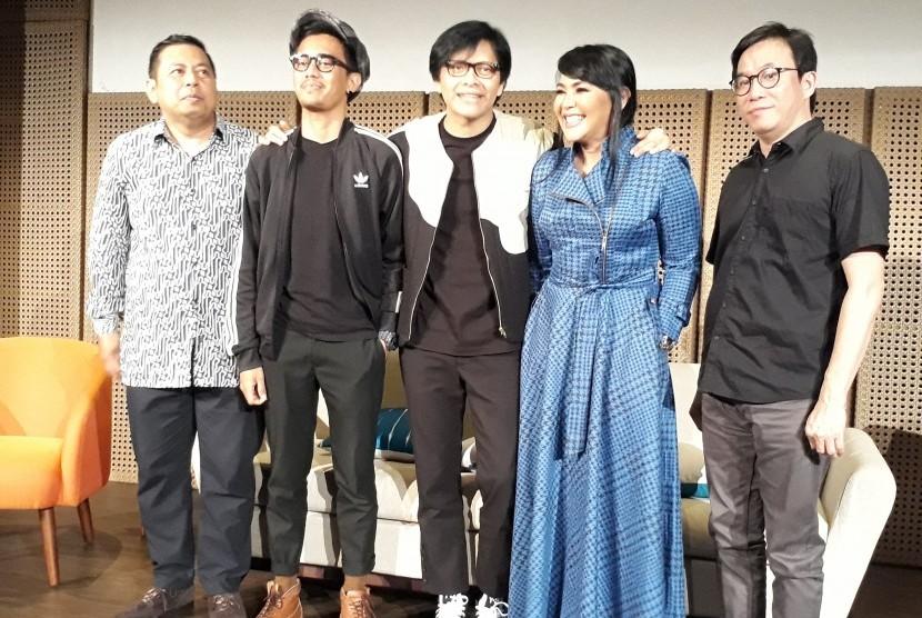 Pasangan musisi Armand Maulana dan Dewi Gita segera menggelar konser bertajuk