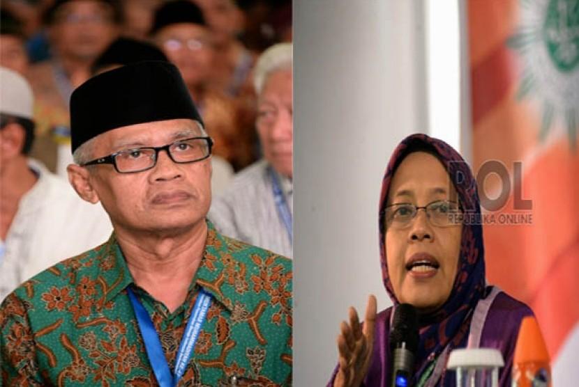 Pasangan Suami-Istri Haedar Nashir-Siti Noordjannah Djohantini.