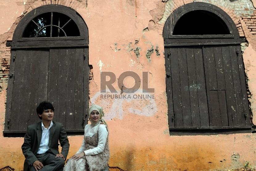 Pasangan suami istri (ilustrasi)