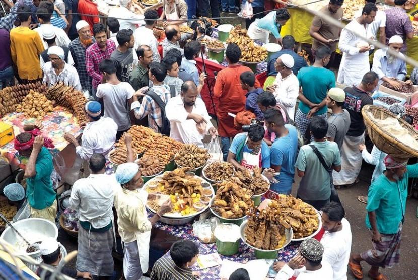 Pasar Chawkbazar, Bangladesh.