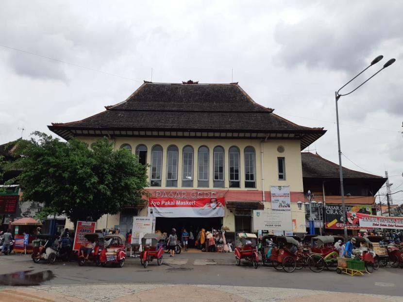 Pasar Gede Solo Ditutup Usai Pedagang Positif Covid-19   Republika Online