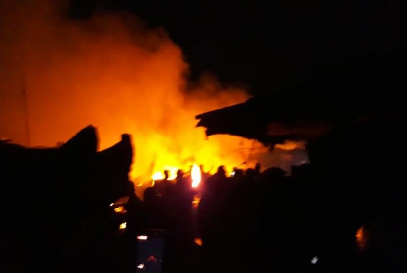 Rumah Makan di Sukabumi Terbakar, Kerugian Capai Rp 3 Miliar (ilustrasi).