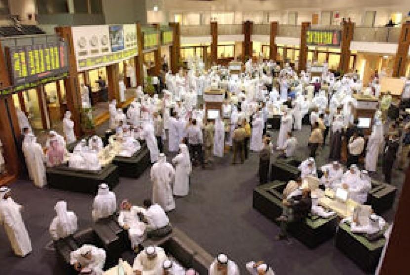 Pasar saham Dubai