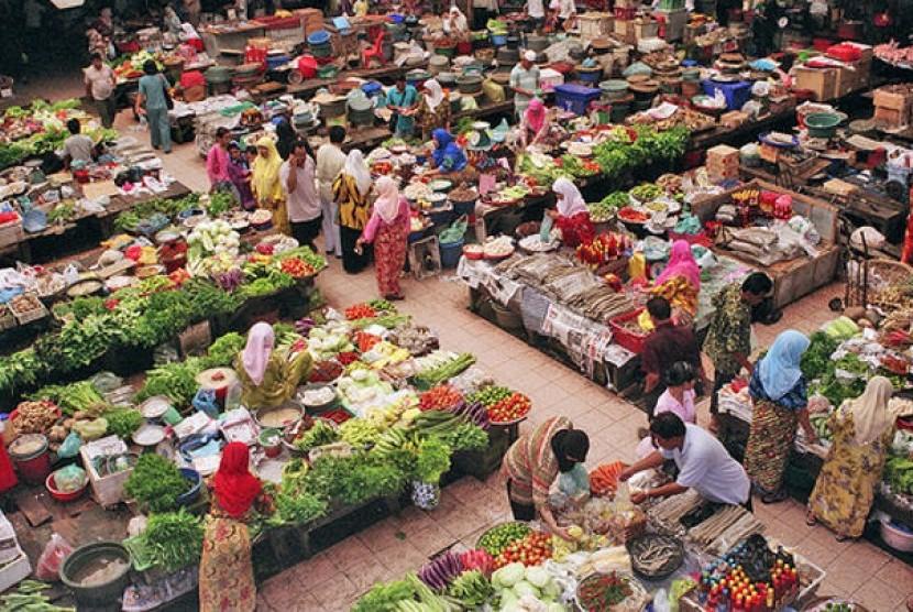 Pasar Tradisional (Ilustrasi).