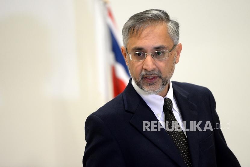 Duta Besar Inggris untuk Indonesia, Moazzam Malik .
