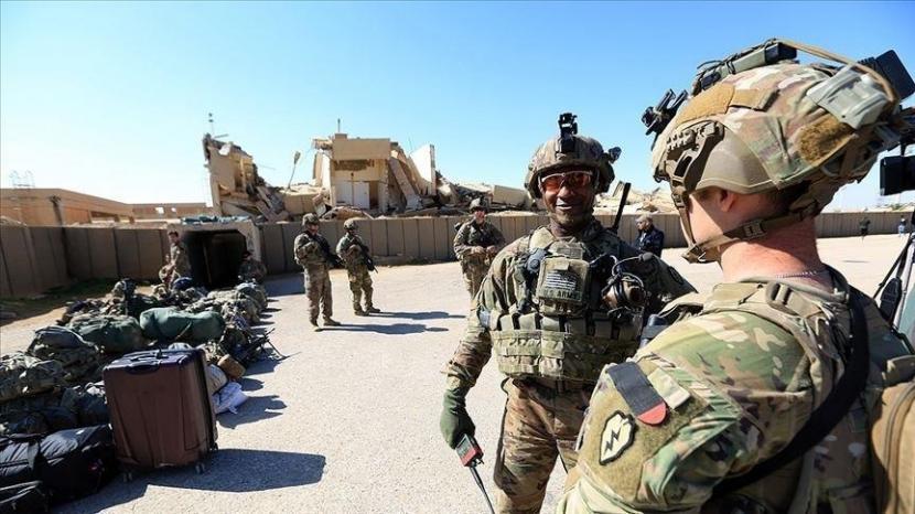 Pasukan AS bersiap tinggalkan Afghanistan.