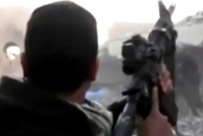 Pasukan bersenjata di kawasan konflik Suriah