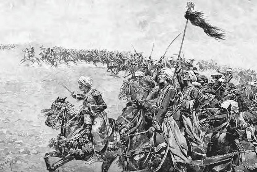 Pasukan Dinasti Mamluk (ilustrasi).