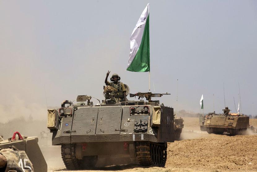 Pasukan Infantri Israel.