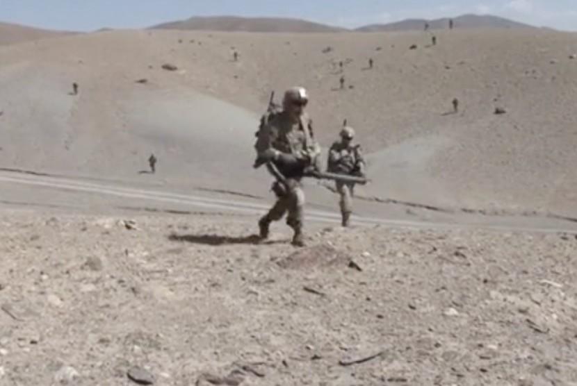 Pasukan militer AS di Suriah