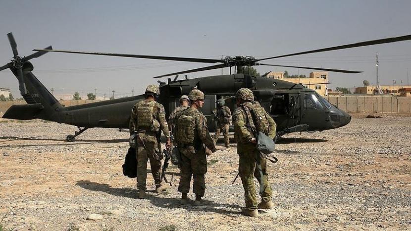 Pasukan NATO di Afghanistan.