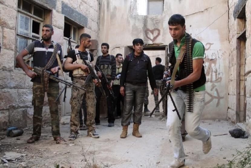 Pasukan pemberontak oposisi Suriah