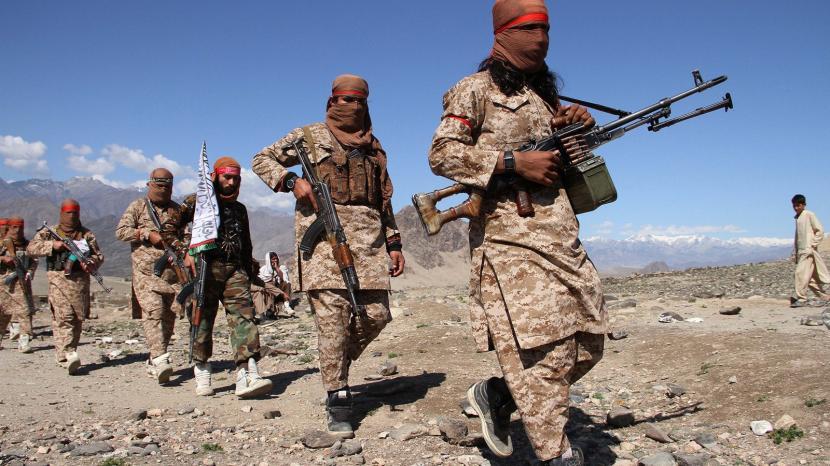 Pasukan Taliban masa kini.
