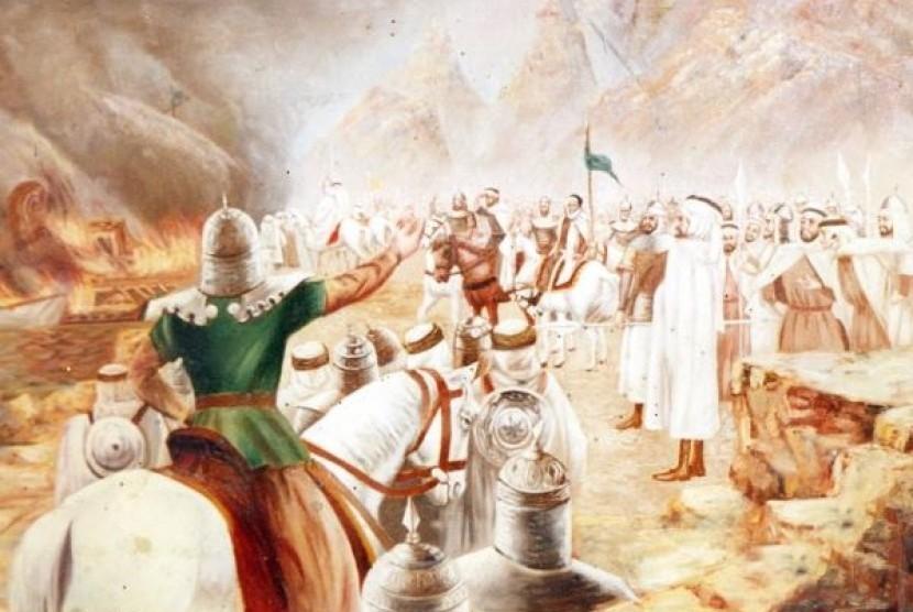 Hari Ini di 711, Tariq ibn-Ziyad dan Pasukannya Mendarat di Gibraltar |  Republika Online