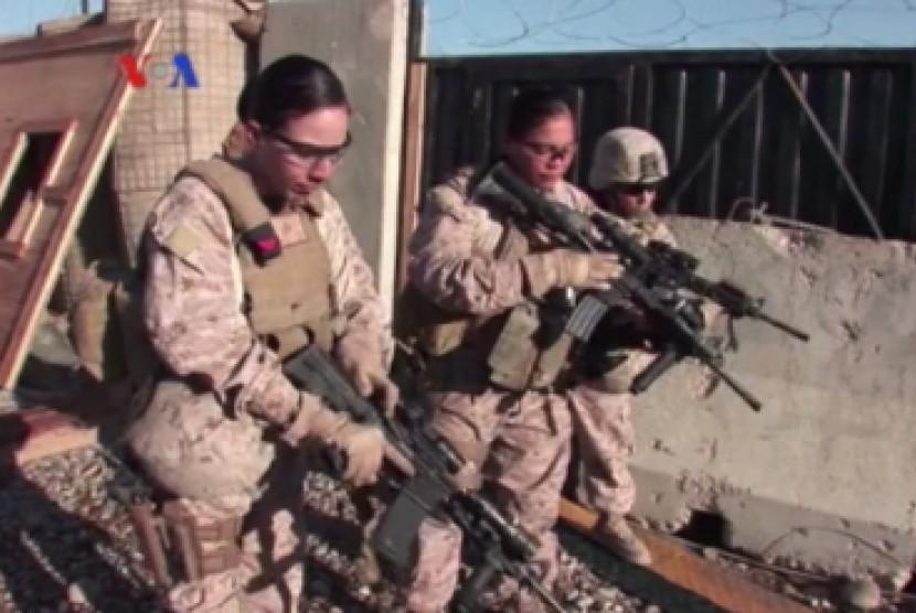 Pasukan AS di Afghanistan. Ilustrasi.