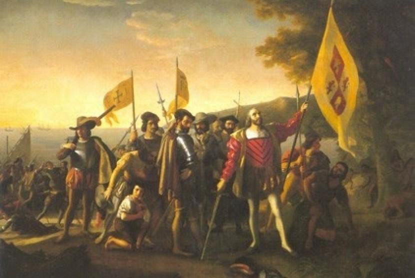 Pasukan tentara Portugis saat menaklukan Malaka tahun 1511 M.
