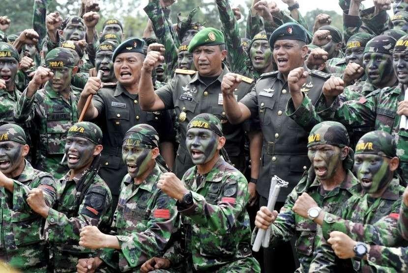 Pasukan TNI AD (ilustrasi)