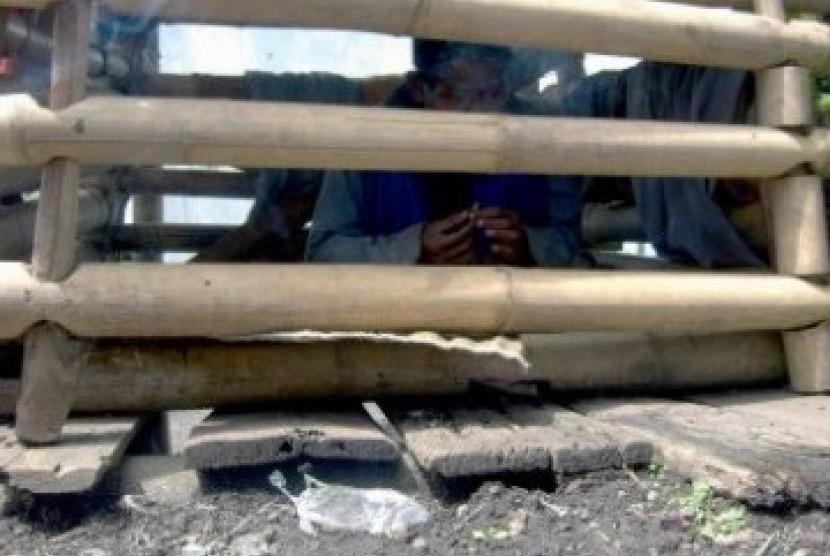 Pasung (ilustrasi)