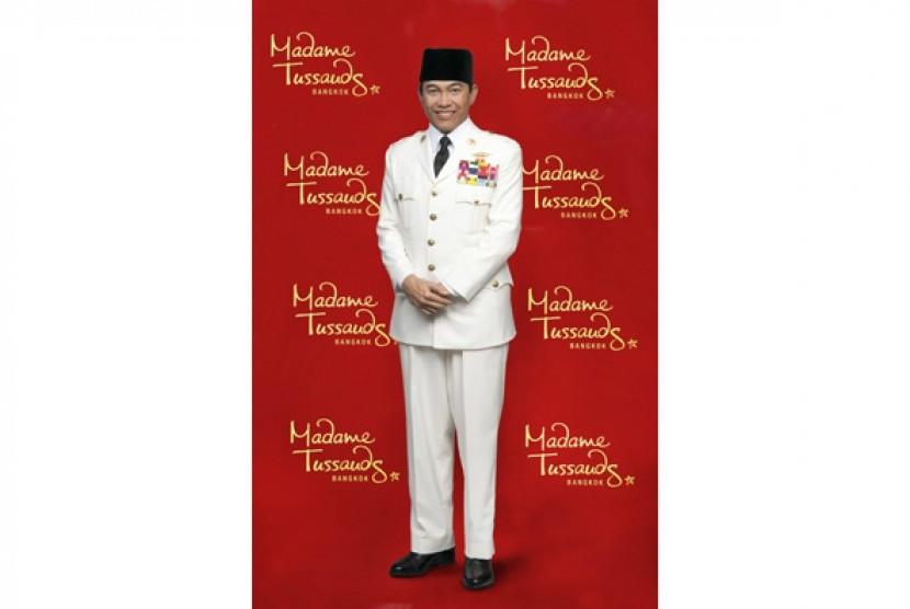 Patung lilin Presiden Sukarno