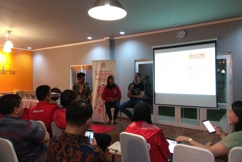 Patungan Rakyat di Kantor DPW PSI Jakarta.