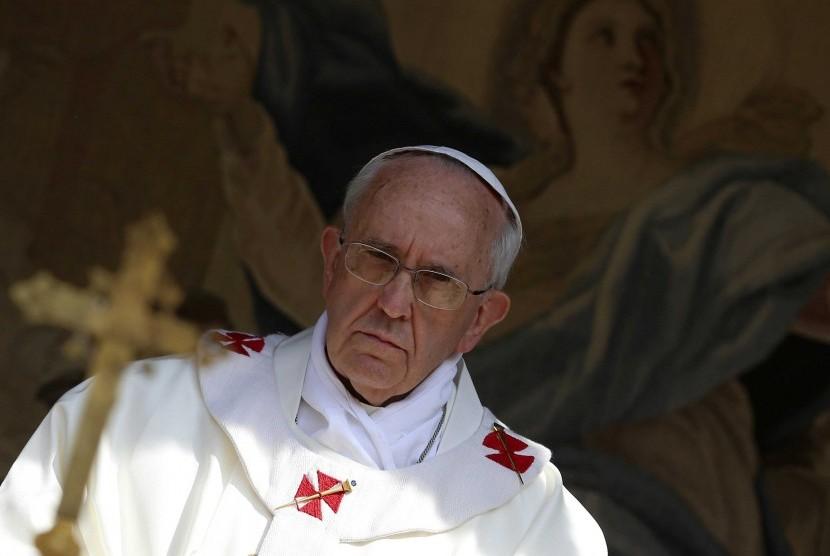 Paus Fransiskus dalam sebuah acara.