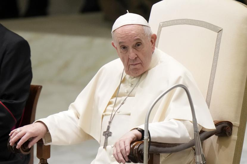 Paus Fransiskus ingatkan masyarakat internasional tentang imigran Libya