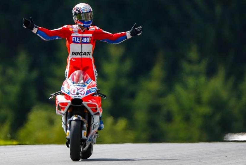 Pebalap Ducati, Andrea Dovizioso