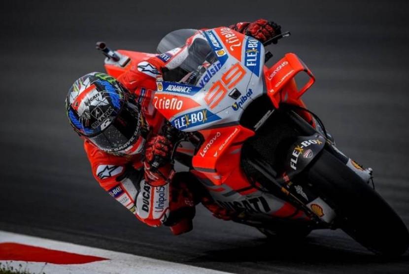 Pebalap Ducati Corse, Jorge Lorenzo