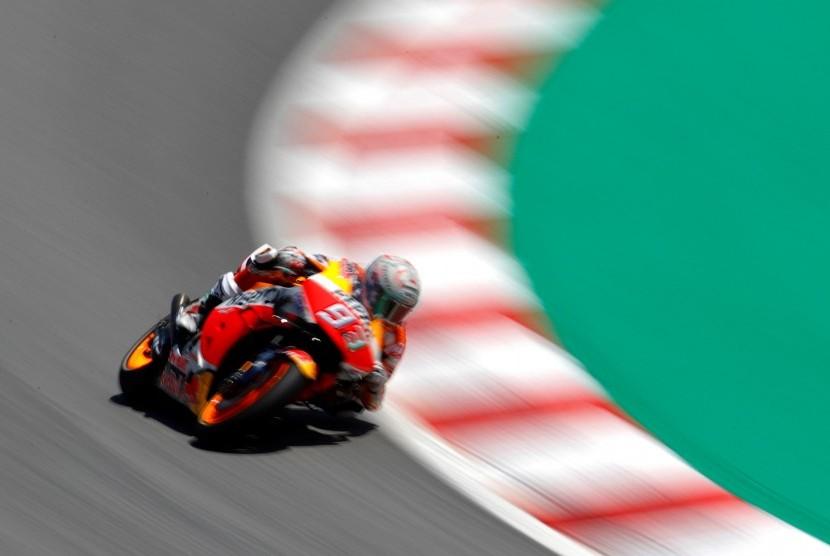 Pembalap Repsol Honda, Marq Marquez