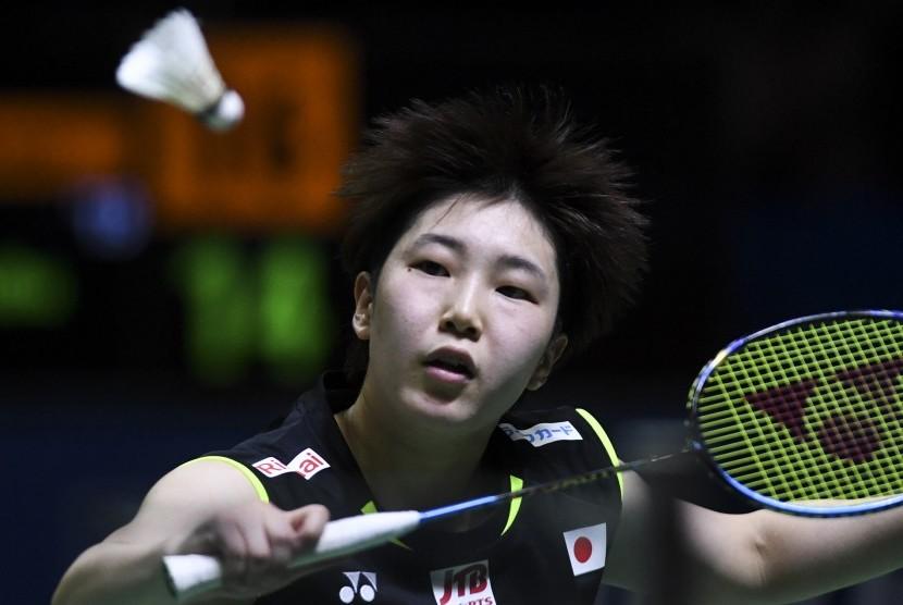 Pebulu tangkis putri Jepang Akane Yamaguchi.