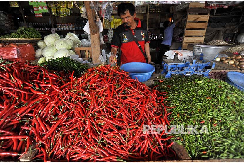 Harga Cabai Keriting di Kab Bandung Anjlok