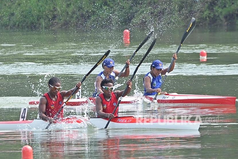 Jabar Pertahankan Gelar Juara Umum Dayung PON Papua (ilustrasi).
