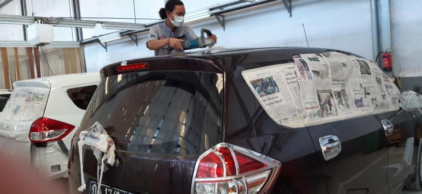 Gratis Salon Mobil untuk Petugas Medis