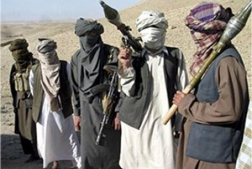 Pejuang Taliban Afghanistan