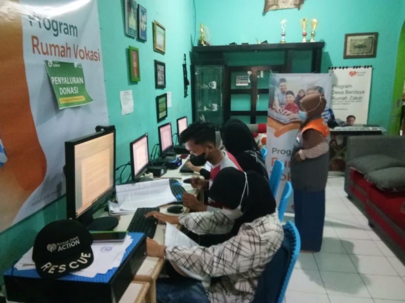 Pekan ke-2 dibulan juni 2021,  tepatnya Senin (14/6) Rumah Vokasi melaksanakan ujian tes komputer program Ms. Word.