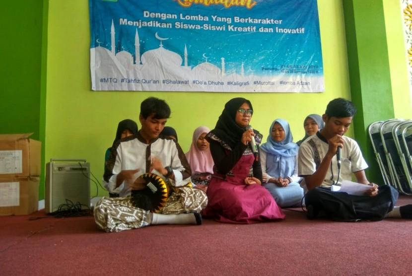 Pekan Ramadhan di MTsN 1 Bogor, Kamis (23/5).