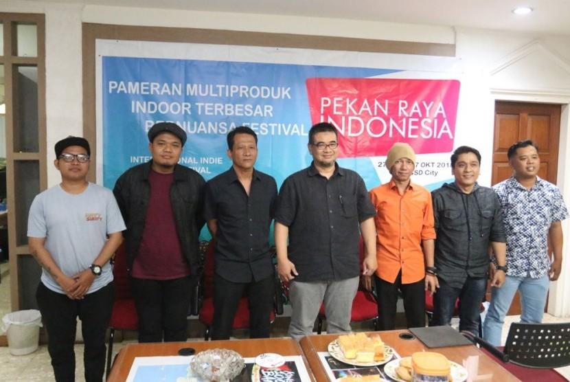 Pekan Raya Indonesia 2018 akan hadirkan musik indie.