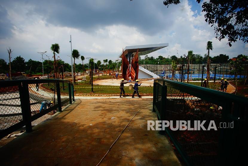 Alun-alun Kota Depok Resmi Dibuka untuk Kegiatan ...
