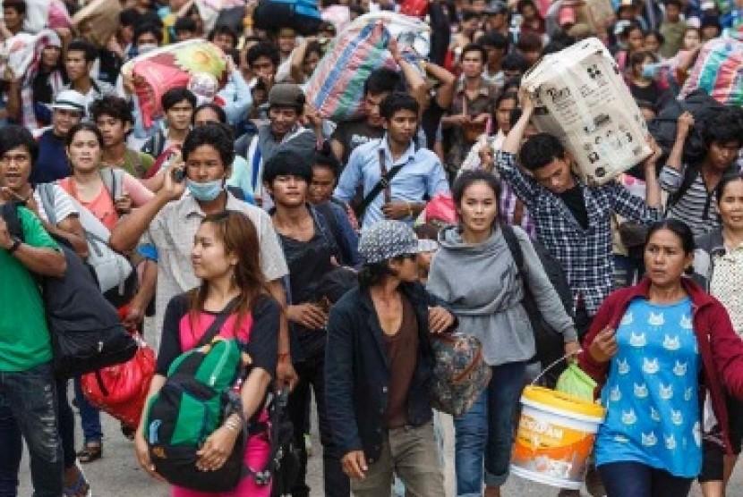 Image result for tenaga kerja thailand