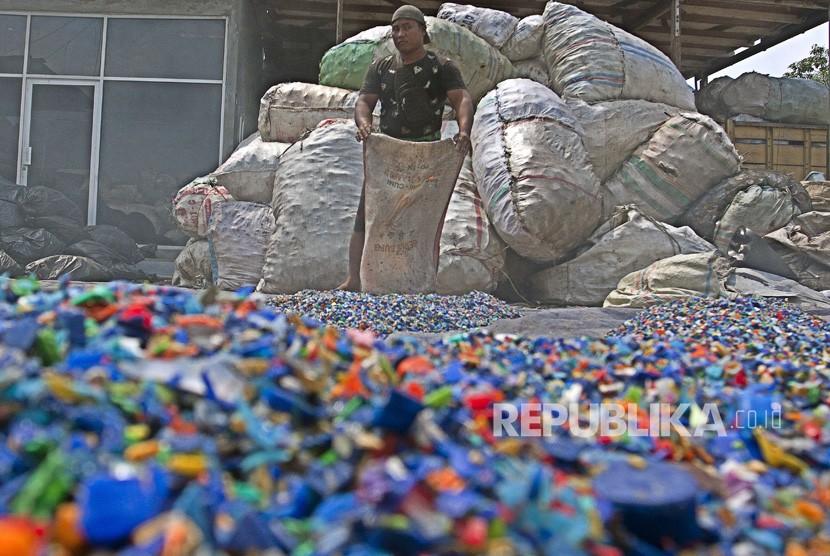Sampah plastik. (Ilustrasi)