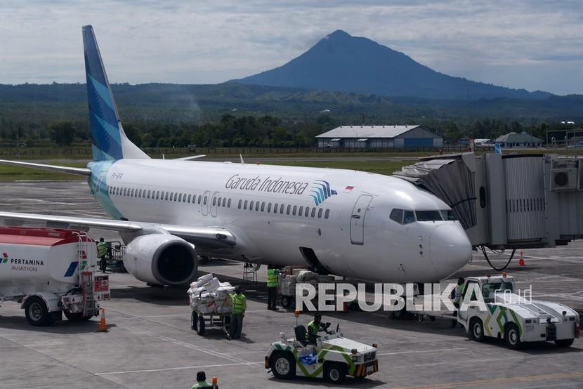 Garuda Akui Tertolong Penerbangan Domestik Republika Online