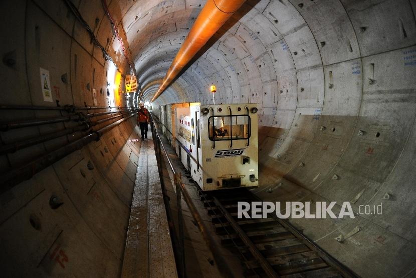Enam Bulan Ngebor Terowongan Mrt Capai 928 Meter Republika Online