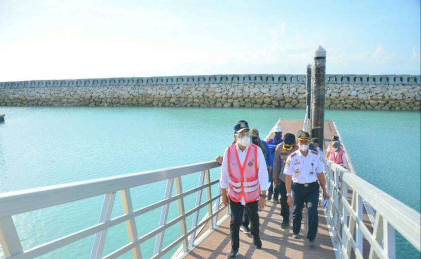 Pelabuhan Nusa Penida Ditargetkan Selesai Awal 2022