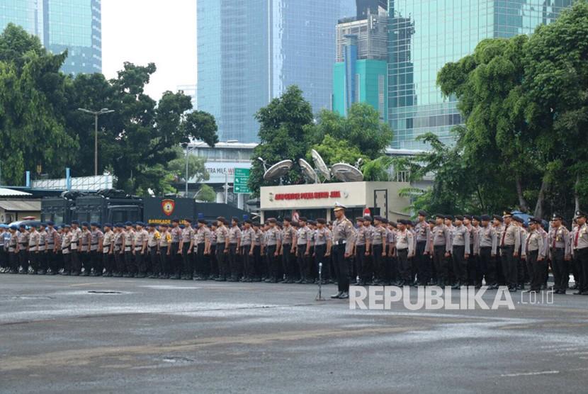 Pelaksanaan Apel Gelar Pasukan dalam rangka kesiapan Pengamanan Test Event Asian Games 2018, yang akan diselenggarakan di Indonesia pada tanggal 18 Agustus 2018 sampai dengan 2 September 2018 di dua tempat yakni Jakarta dan Palembang.