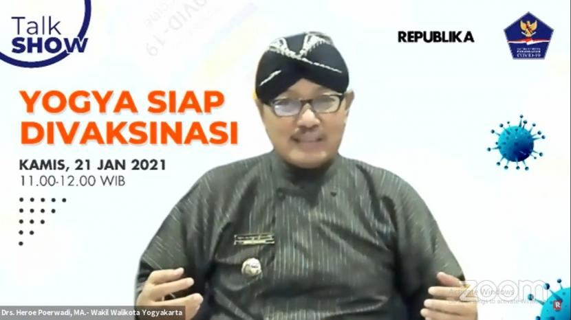 Wakil Wali Kota Yogyakarta, Heroe Poerwadi.