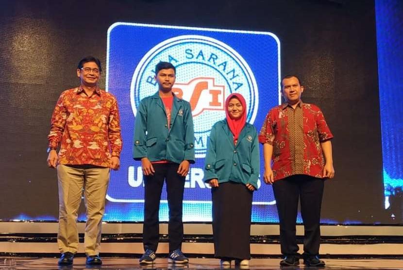 Pelantikan mahasiswa baru Universitas Bina Sarana Informatika (UBSI) oleh Dirjen Pembelajaran dan Kemahasiswaan Kemristesdikti, Prof Intan Ahmad PhD.