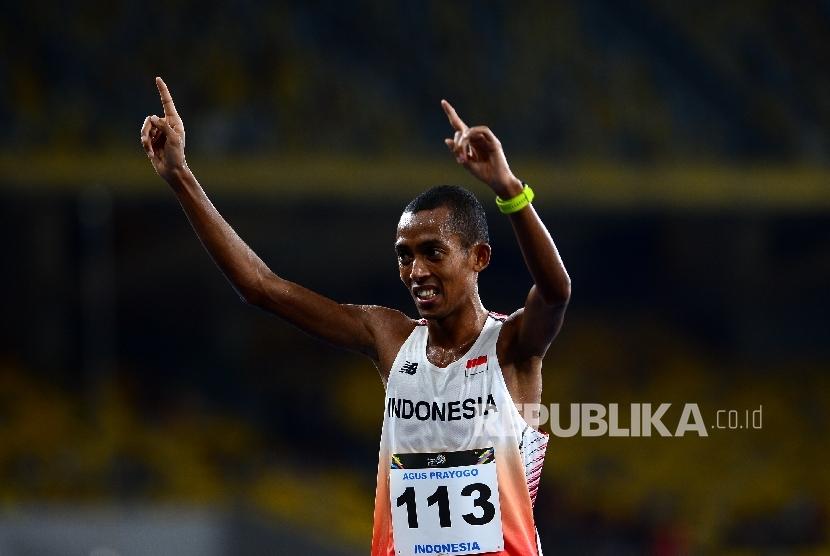 Pelari maraton Indonesia Agus Prayogo